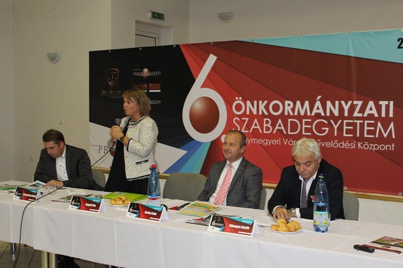 Weingartner Béla, Bognár Éva, Farkas Iván és Süveges László (Fotó: Neszméri Tünde/Felvidék.ma)