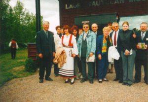 Múzeumlátogatáson, közösen a vendéglátókkal (Fotó: a kamarazenekar archívuma)