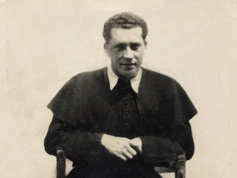 Lénár Károly lukanényei adminisztrátor (Fotó: Csáky Károly archívuma)