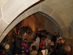 A Rákóczi kripta a kassai Szent Erzsébet-dómban (Fotó: Homoly Erzsó/Felvidék.ma)
