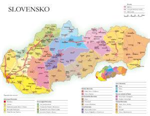 A pártalapító által portálunknak megküldött 16 kantonos területi felosztás (P. Kresánek vázlata)