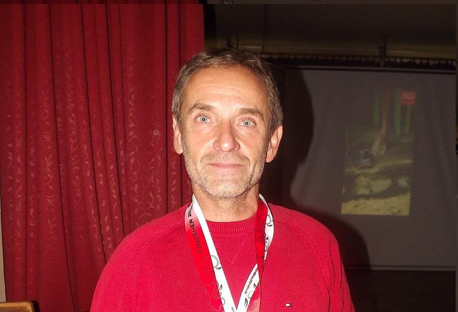 Szőnyi Ferenc Szentpéteren (Fotó: MF)
