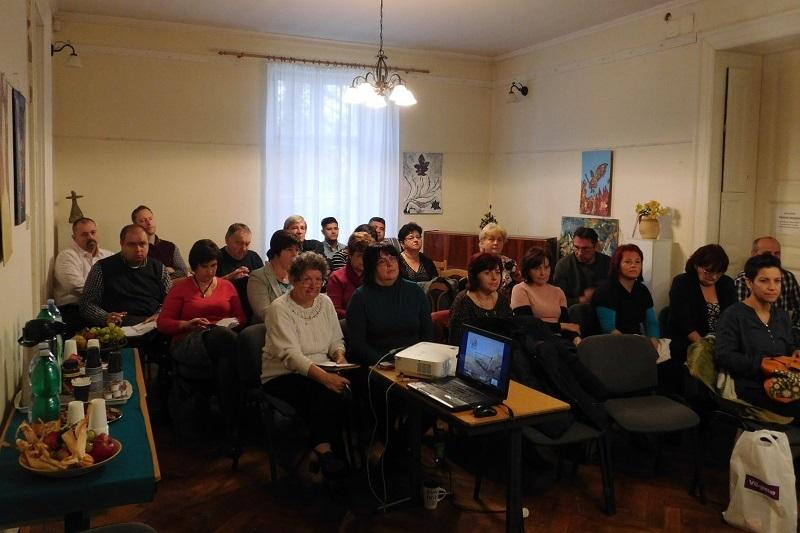 Több mint 30 szervezet érdeklődött a pályázati lehetőségek iránt (Fotó: Homoly Erzsó/Felvidék.ma)