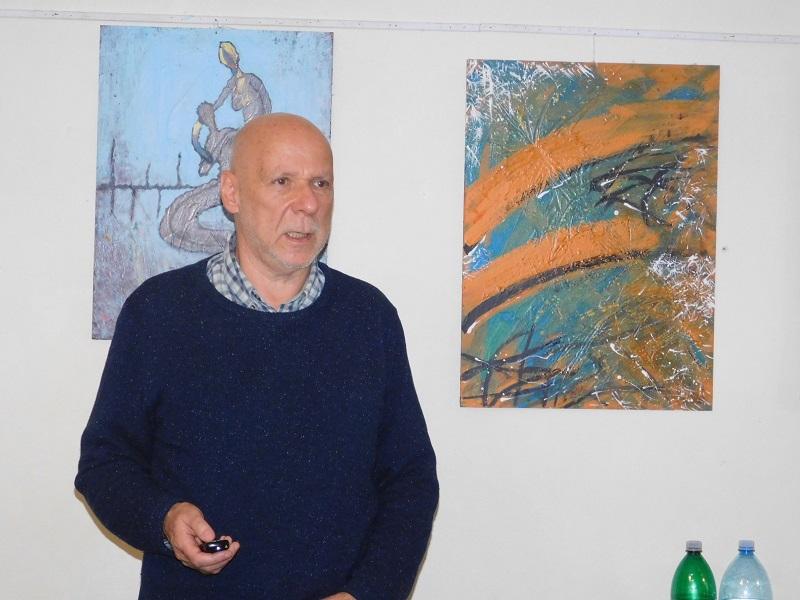 Varga György, a Nemzetközi Visegrádi Alap ügyvezető igazgatóhelyettese (Fotó: Homoly Erzsó/Felvidék.ma)