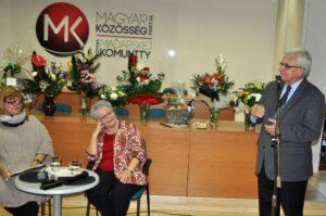 Duray Miklós felidézte ismeretségük és politizálásuk szép pillanatait (Fotó: Oriskó Norbert)