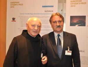 Bárdos Gyula és Kozma Imre atya (Fotó: a szerző)