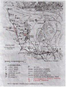 Az erődrendszer térképe (Fotó: net)