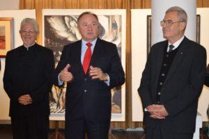 Csáky Pál, Tőkés László és Kopócs Tibor (Fotó: a szerző)