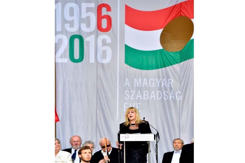 Schmidt Mária (Fotó: MTI)