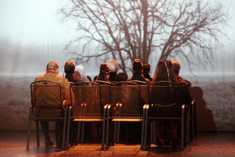 Így indul az előadás (Fotó: Balassa Zoltán/Felvidék.ma)