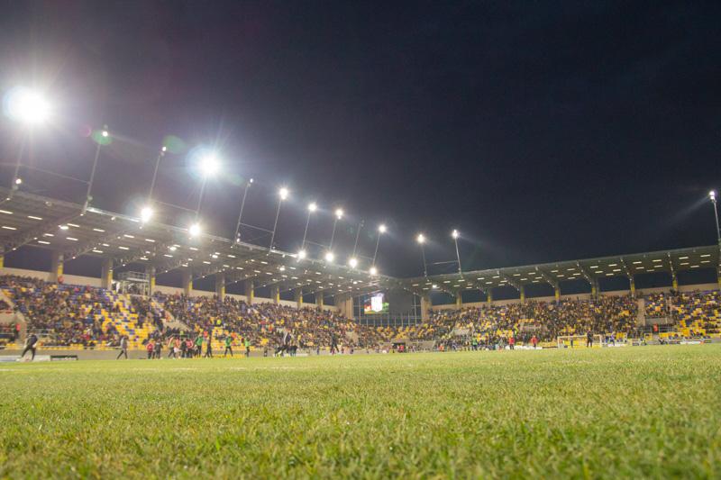 Az új aréna (fotó: Hideghéthy/Felvidék.ma)