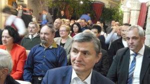 komárumi fórum közönségképe, melyet Knirs Imre alpolgármester úr is megtisztelt (Fotó: PH)