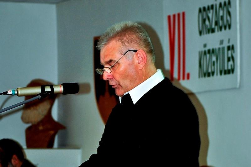 Mézes Rudolf, a Szövetség elnöke (Fotó:Mészáros Magdi/Felvidék.ma)