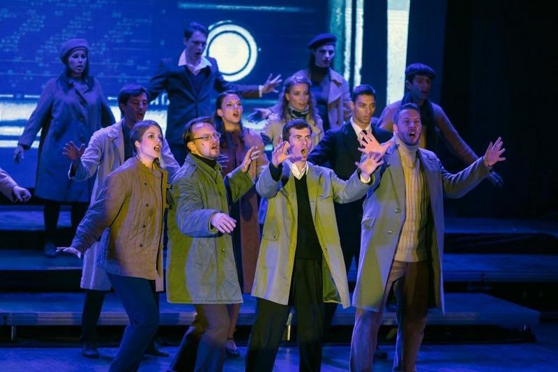 Jelenet a Magyarock Dalszínház előadásából (fotó: archívum)