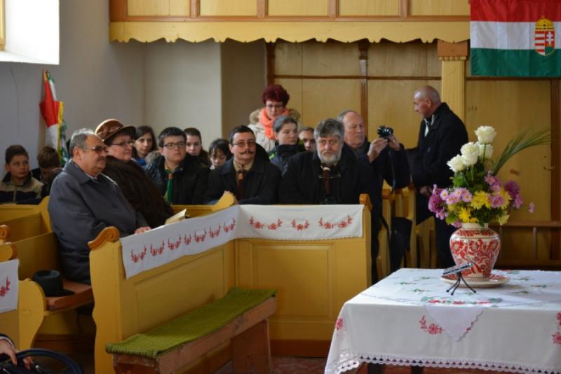 Ökumenikus istentisztelet Ady szülőfalujának református templomában
