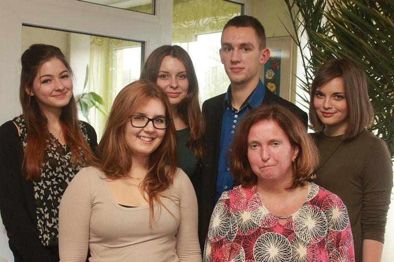 A Lakoma szerkesztősége (Fotó: Bárány János)