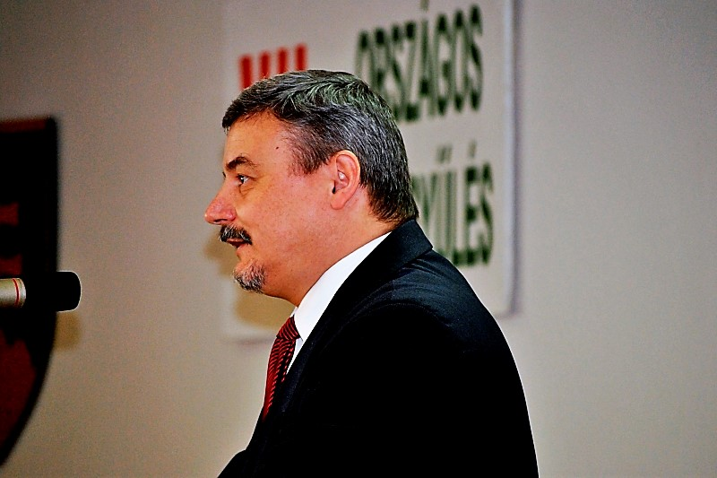 Berényi József, Nagyszombat megye alelnöke is részt vett az ülésen (Fotó:Mészáros Magdi/Felvidék.ma)