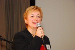 Dedina Mária, a CSMOT elnöke (Fotó: Fajd János)