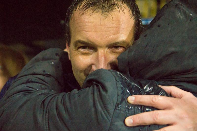 A mester fogadja a gratulációkat (fotó: Hideghéthy/Felvidék.ma)
