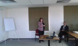 A konfliktusmegelőzést hansúlyozta Soós Katalin (Fotó: a szerző)
