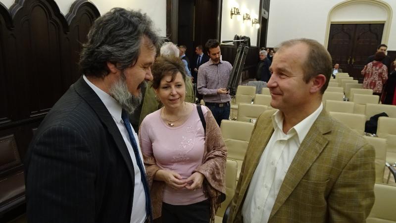 A Magyar Közösség Pártját Farkas Iván gazdasági és régiófejlesztési alelnök képviselte (Fotó: Gecse Géza/Felvidék.ma)