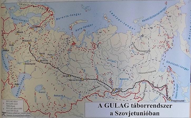 A gulag táborrenszer a Szovjetunióban