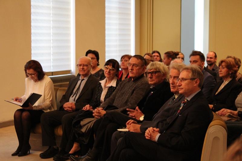 Az ünnepség résztvevői (Fotó: Neszméri Tünde/Felvidék.ma)