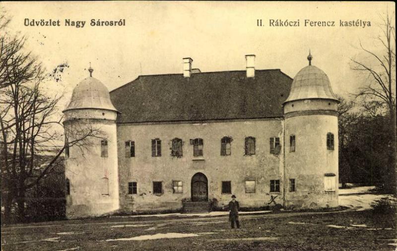 Az egykori nagysárosi Rákóczi-kastély