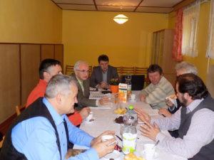 Tanácskozás és alakuló ülés Lekenyén (Fotó: Homoly Erzsó/Felvidék.ma)