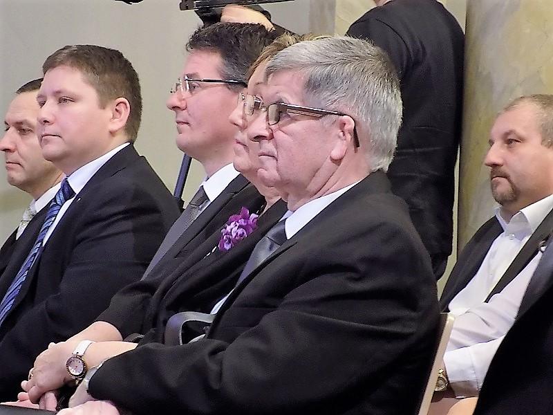 A díjátadót megtisztelte jelenlétével Haraszti Attila főkonzul és Bitay Levente kassai konzul is (Fotó: Homoly Erzsó/Felvidék.ma)