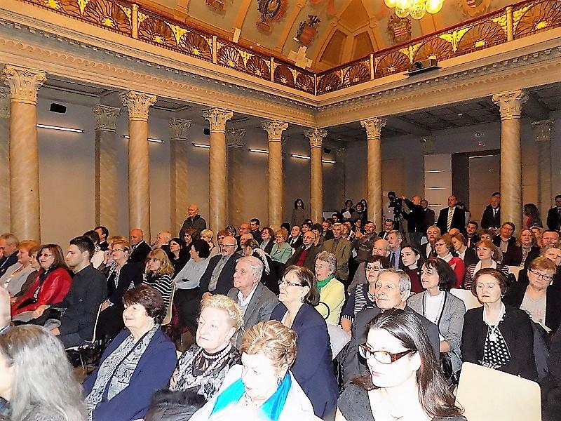 A díjátadó résztvevői (Fotó: Homoly Erzsó/Felvidék.ma)