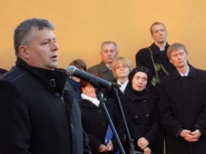 Furik Csaba, Kisgéres polgármestere (Fotó: Homoly Erzsó/Felvidék.ma)