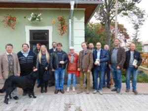 Hollókőiek, bátkaiak és kalondaiak Nemesradnóton (Fotó: Homoly Erzsó/Felvidék.ma)