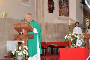 Ďurčo Zoltán püspöki helynök mutatta be az emlékmisét (Fotó: Dunajszky Éva/Felvidék.ma)