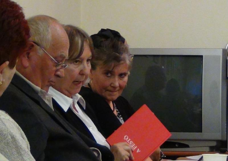 Szajkó Béla, Kovács Magda, Majoros Albinka (Fotó: Homoly Erzsó/Felvidék.ma)