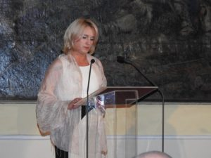 Ökrös Mariann, a Feszty-körkép Alapítvány elnöke (Fotó: Németh István)