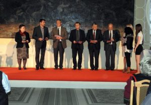 A díjátadás pillanatai (Fotó: Németh István)