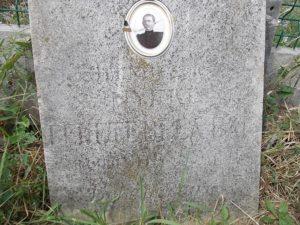 Fekete Béla síremléke a Házaskai temetőben (Fotó: Csáky Károly)