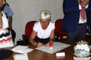 Papp Ocsovai Andrea Szicíliában (Fotó: www.forzadagro.com)