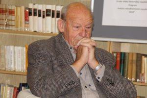 Márton István, nyugalmazott állatorvos, többkötetes szerző (Fotó: Pásztor Péter/Felvidék.ma)