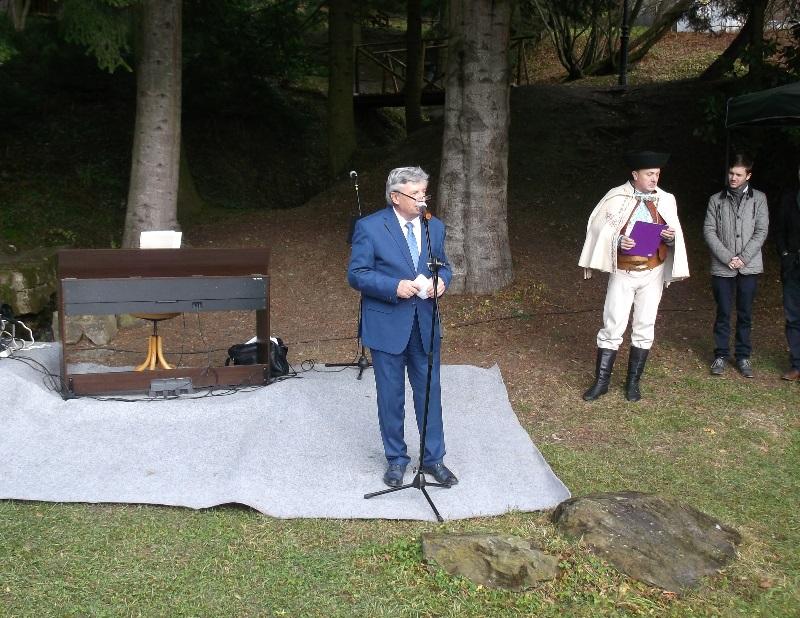 Ing. Ján Šimko vezérigazgató köszönti a vendégeket (Fotó: Máté László)