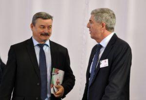 Berényi József és Bugár Béla (Fotó: Oriskó Norbert/Felvidék.ma)