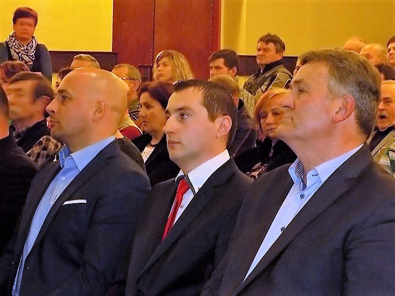 Menyhárt József, Cziprusz Zoltán és Auxt Ferenc (Fotó: Homoly Erzsó/Felvidék.ma)