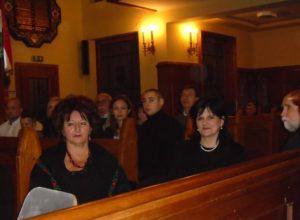 Orlovský Erzsébet, Bodnár Éva, Ivaskovics József a budapesti Hazatérés templomában (Fotó: Lizik Zoltán)