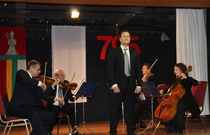 Püspöki zenészek is felléptek a rendezvényen (fotó: Neszméri Tünde/Felvidék.ma)