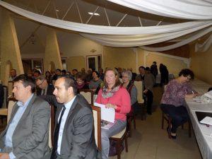 A SZAKC közgyűlésének résztvevői (Fotó: Homoly Erzsó/Felvidék.ma)