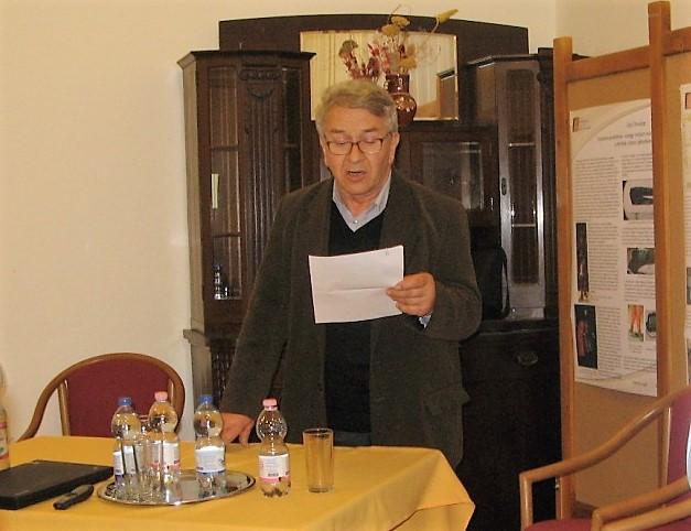 Sallai Tibor református lelkész (Fotó: Tökölyi Angéla/Felvidék.ma)