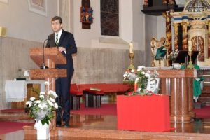 Szilágyi Péter nemzetpolitikáért felelős helyettes államtitkár (Fotó: Dunajszky Éva/Felvidék.ma)
