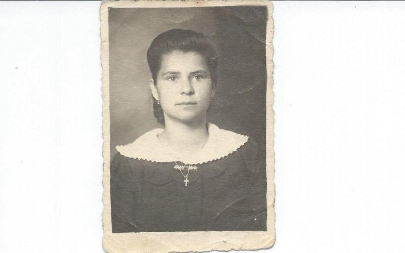 Oravecz Ilona (Fotó: Neszméri Tünde családi albumából)