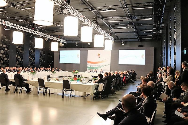 A MÁÉRT XV. ülése Budapesten, 2016. december 1-jén (Fotó: Szinek János/Felvidék.ma)